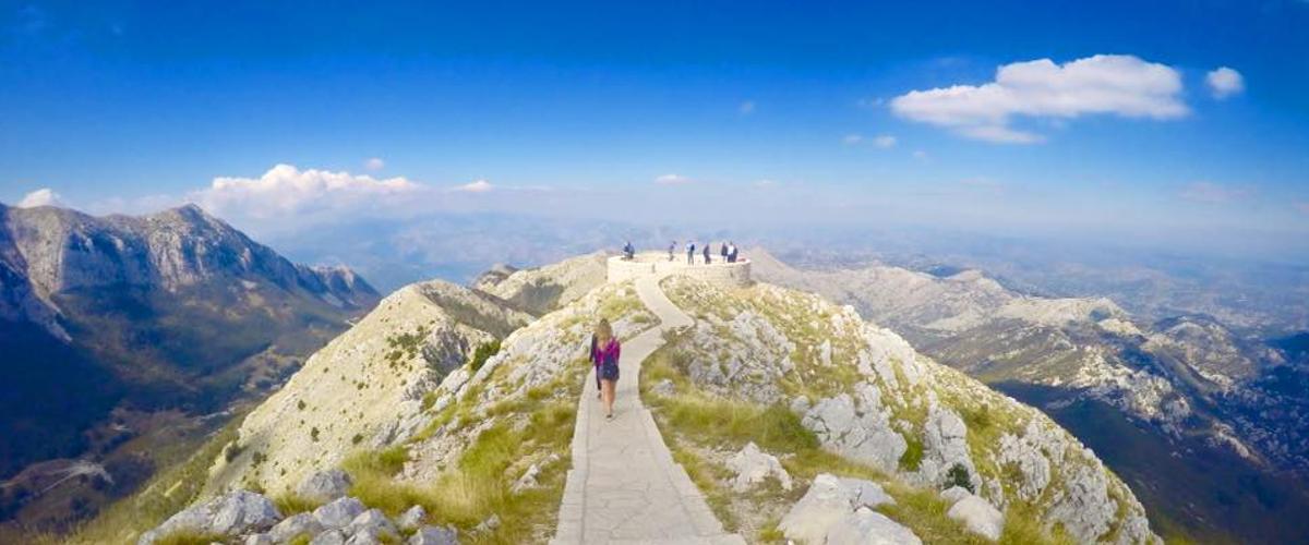 Im Lovcen-Nationalpark genießt man eine tolle Aussicht
