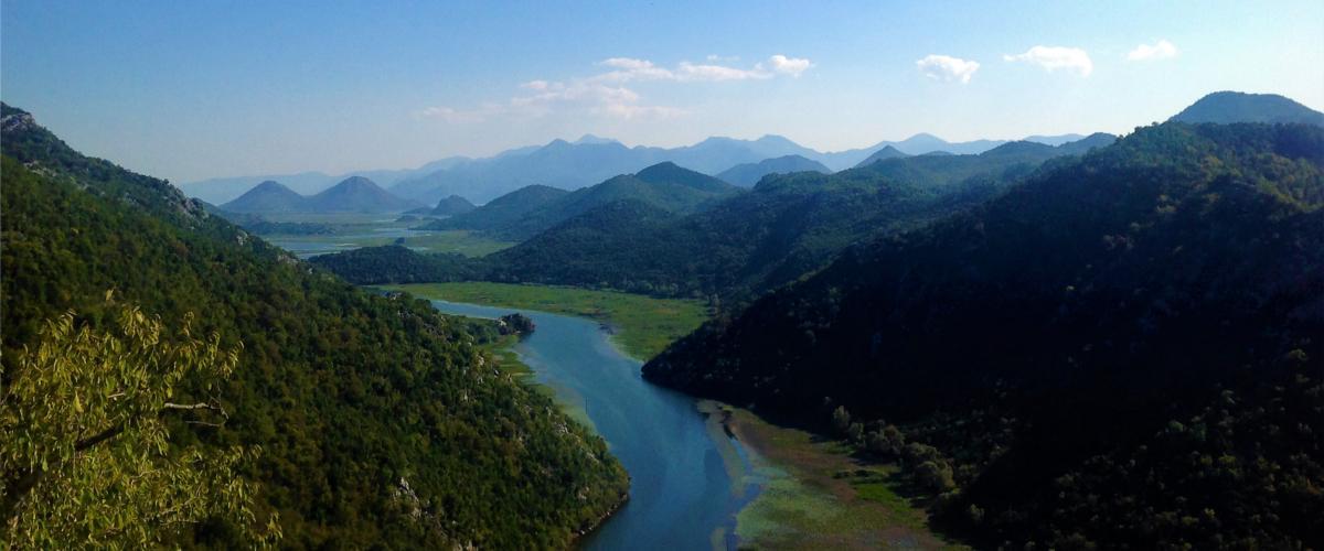 Im Flusstal Rijeka scheint die Zeit stehen geblieben zu sein.