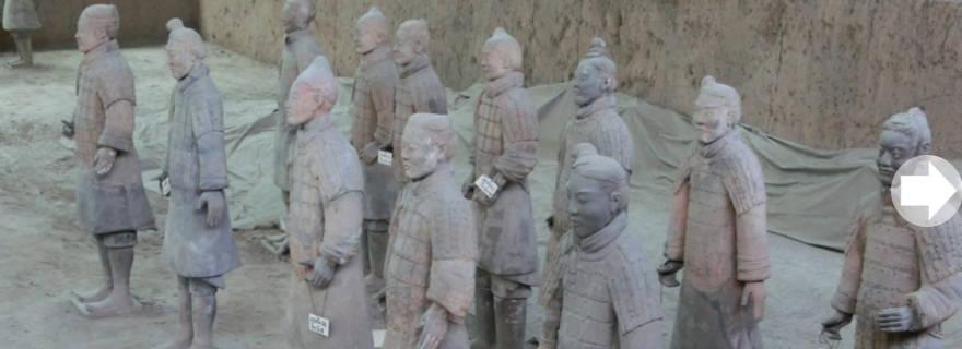 Terrakotta-Kriegern