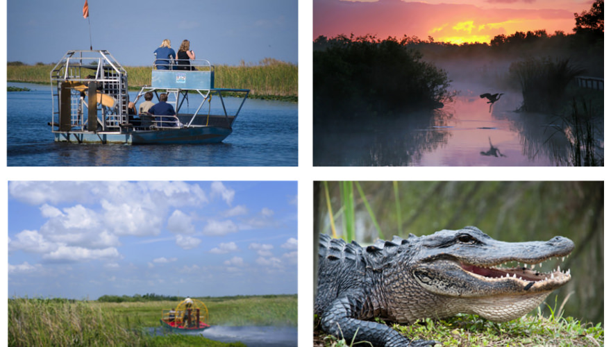 Nationalpark in Florida: Everglades