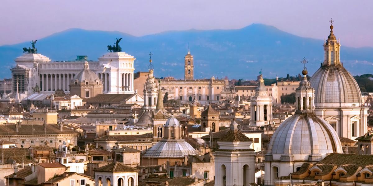 Italiens Hauptstadt Rom