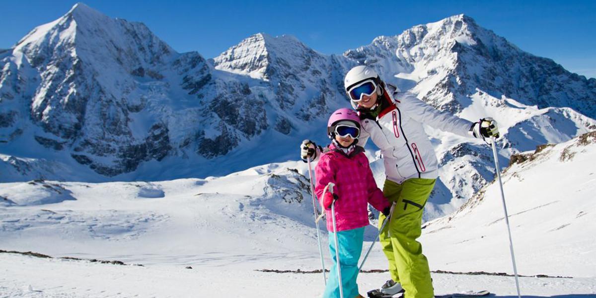 Winterurlaub: Ski fahren gehen