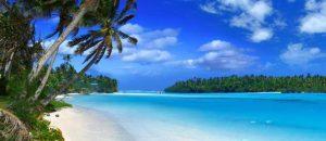Strand, Meer und Palmen auf Hawaii