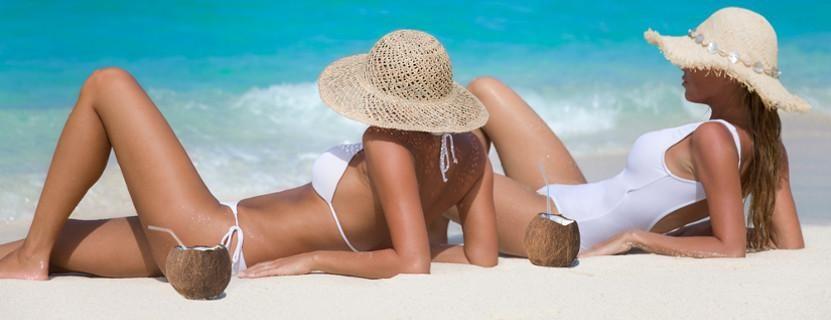 Mädels am Strand