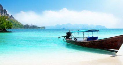 Thailand: Strand, Meer und Schiff