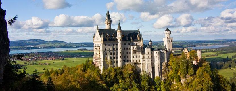 Märchenhaft schön - das Schloss Neuschwanstein...