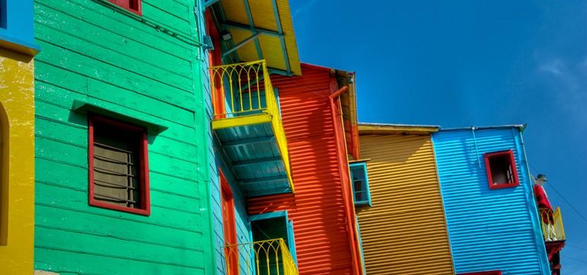 Bildschön: Die Caminito in Buenos Aires