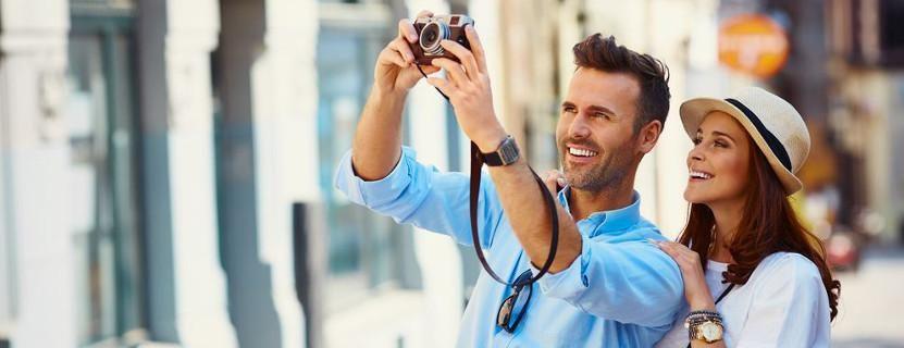 Im Urlaub: Fotos machen