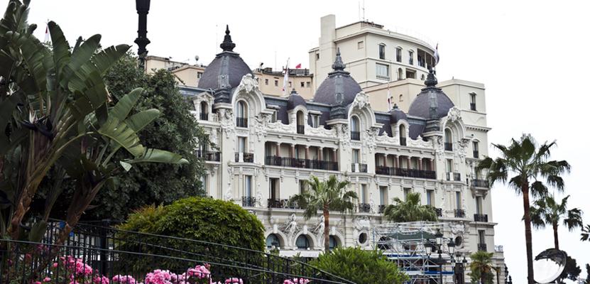Auch ein sehr beliebtes Motiv: Das Hotel de Paris