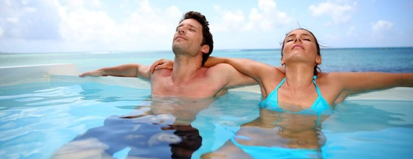 Infinity-Pool im Urlaub