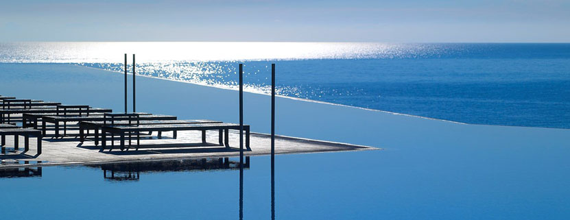 Der Pool des Michelangelo Resort & Spa auf Kos