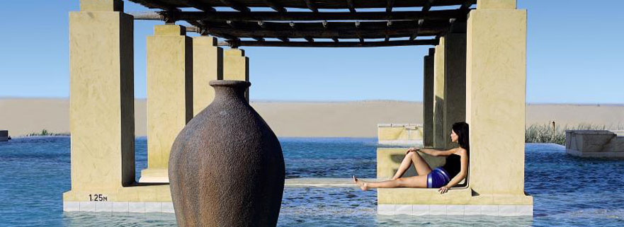 Entspannung im Wüstenresort Bab Al Shams Desert Resort & Spa