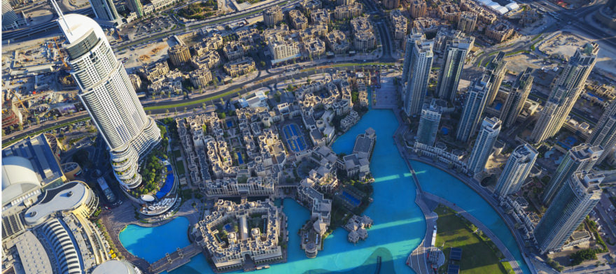 Ausblick Burj Khalifa
