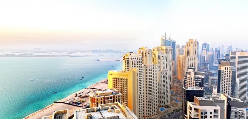Skyline in Dubai