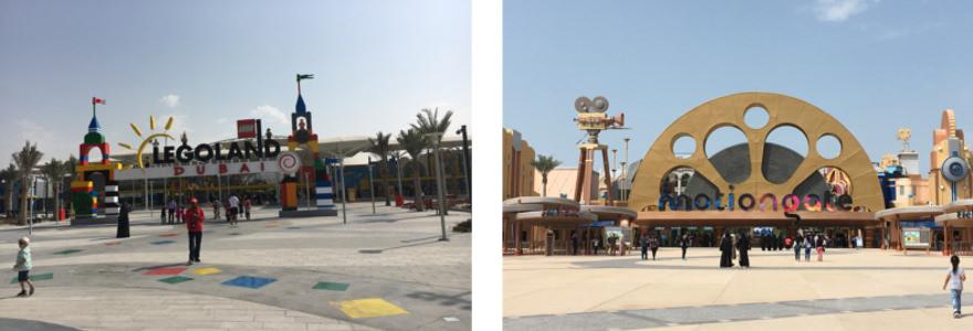 Freizeitparks Dubai