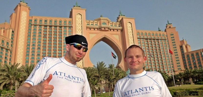 Fotostopp am weltberühmten Hotel Atlantis