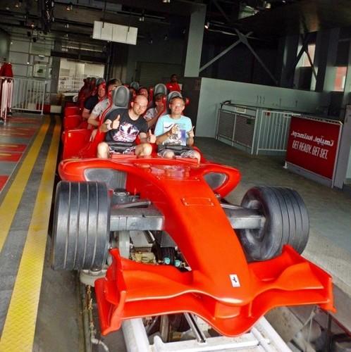 Ferrari World, Abu Dhabi: Hier lohnt sich ein Besuch
