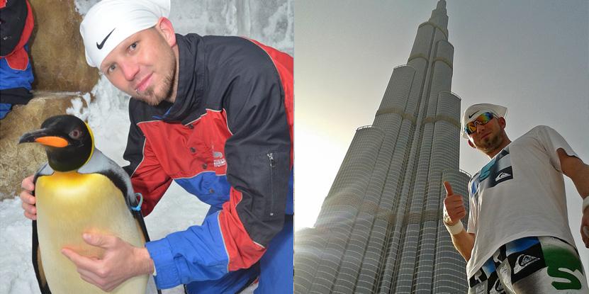 Ski Dubai & das Burj Khalifa: einfach unvergesslich...