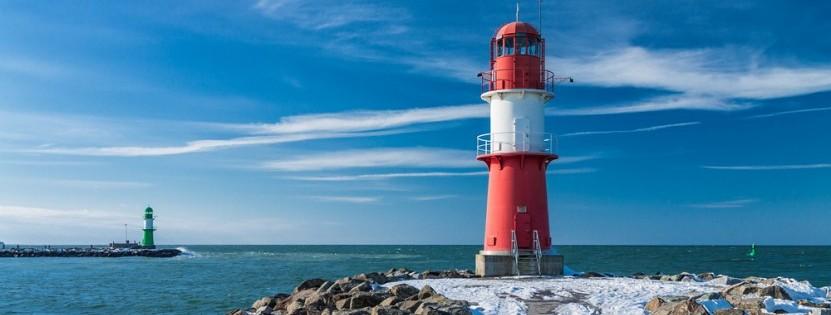 Die Ostsee: perfektes Ziel für Leuchtturmfans