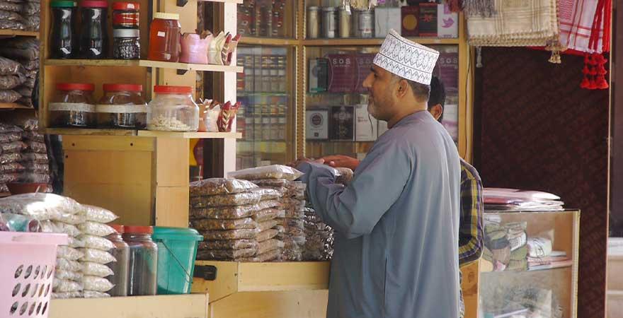Weihrauchbasar in Salalah