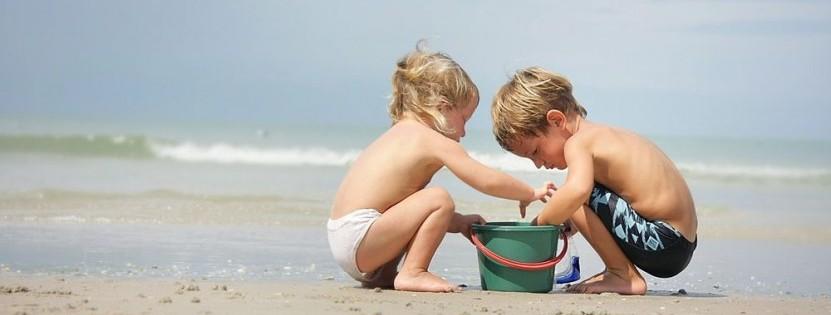 Die Ostsee ist ein richtiges Kinderparadies