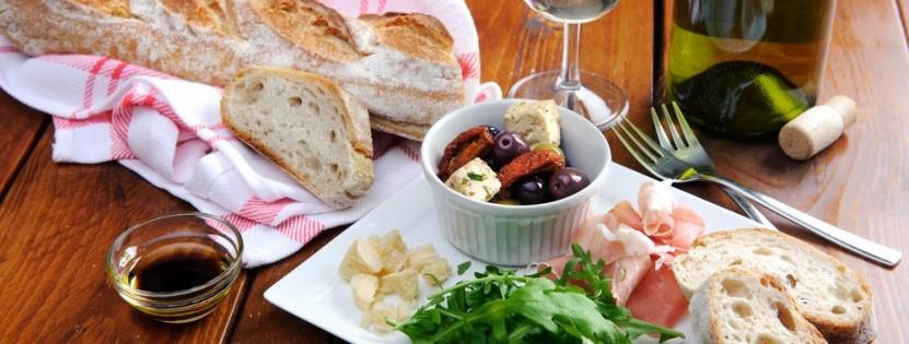 Brot, Wein & Antipasti in Italien