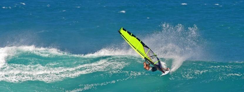 Wichtig für das perfekte Windsurfabenteuer: die richtige Brise