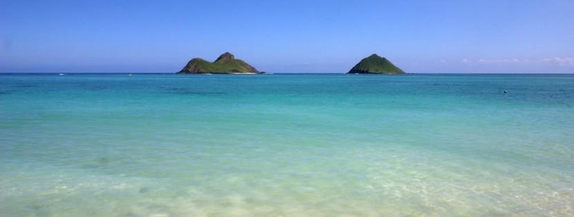 Strandurlaub am Lanikai Beach auf Oahu