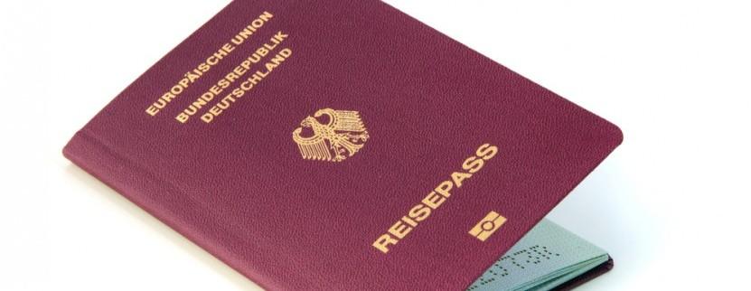 Ein gültiger Reisepass ist wichtig