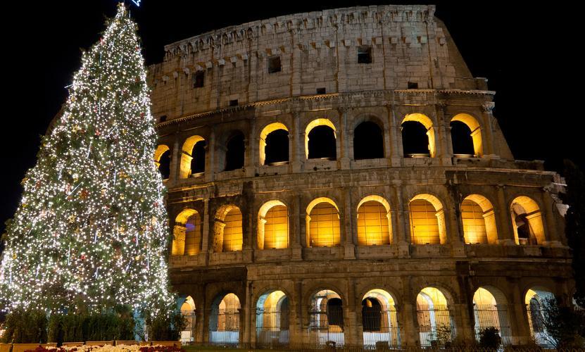 Rom an Weihnachten