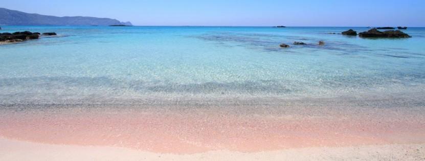 Surreal schön: Der rosane Korallenstrand auf Kreta