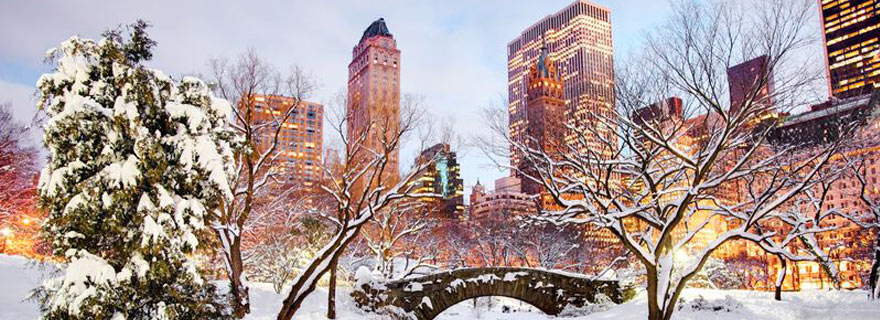 New York im Winter