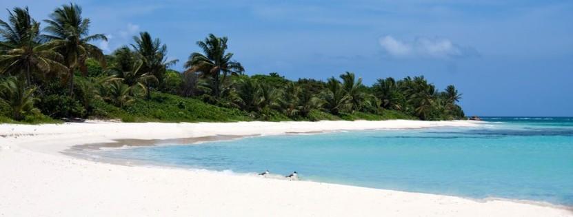 Urlaub wie im Bilderbuch am Flamenco Beach in Puerto Rico