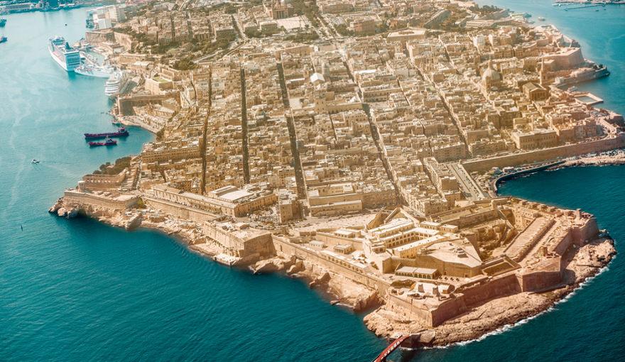 Rundflug über Malta