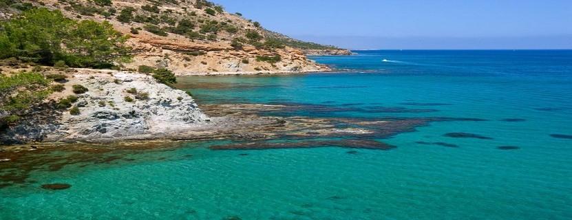Küstenbeispiel von Zypern