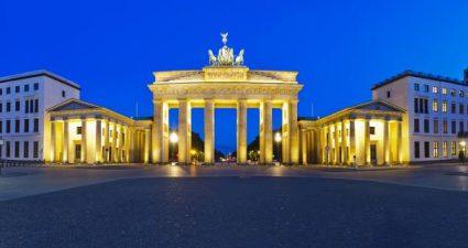 Berlin bei Nacht: Brandenburger Tor