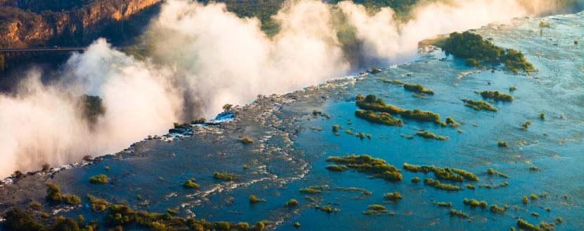 Die Viktoriafälle gehören zum UNESCO Weltnaturerbe