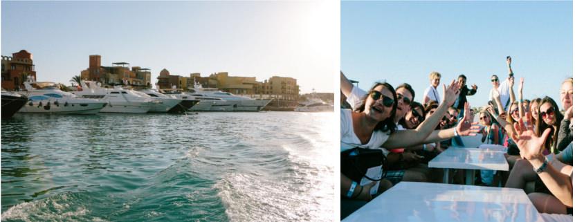 Reisebericht Ägypten: auf Bootstour in El Gouna