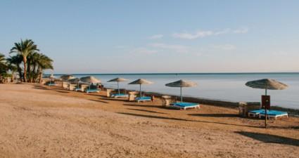 Reisebericht Ägypten: am Strand von El Gouna