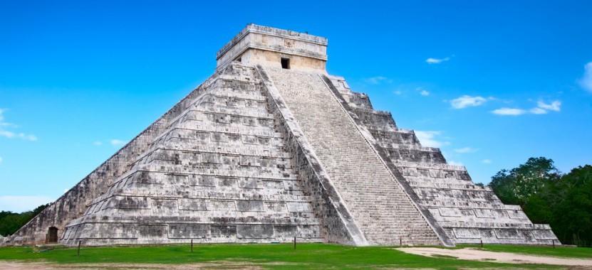 Die Maya-Kultstätte Chichen Itza in Mexiko