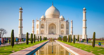 Der Taj Mahal in Indien