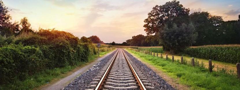 Besonders umweltfreundlich: mit der Bahn in den Urlaub