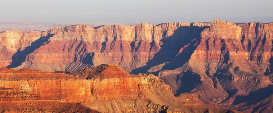 Der Gran Canyon: eines der unglaublichsten Naturschauspiele der Welt...