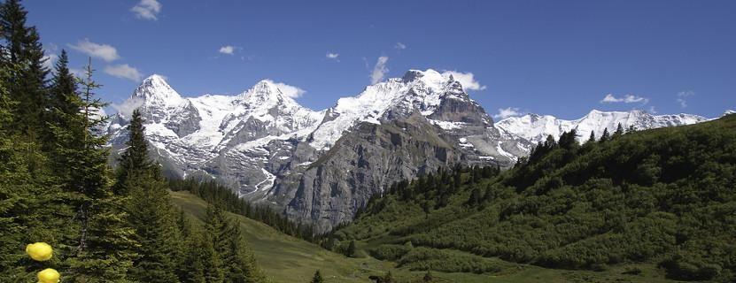 Urlaub in der Schweiz in den Bergen