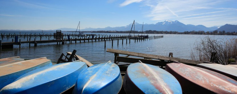 Idylle pur am Chiemsee