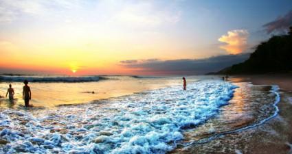 Badespaß in Costa Rica