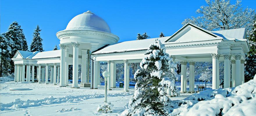 Marienbad im Winter