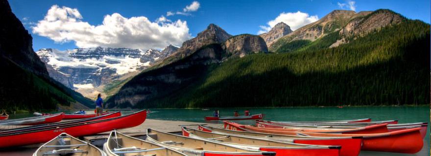 Reisen in sicheres Land: Kanada mit traumhafter Landschaft