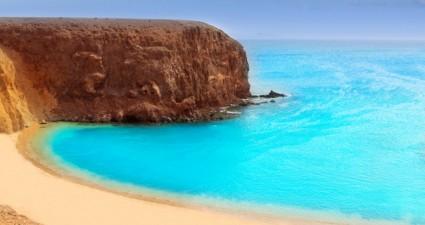 Der Playa Papagayo auf Lanzarote - Urlaub auf den Kanaren