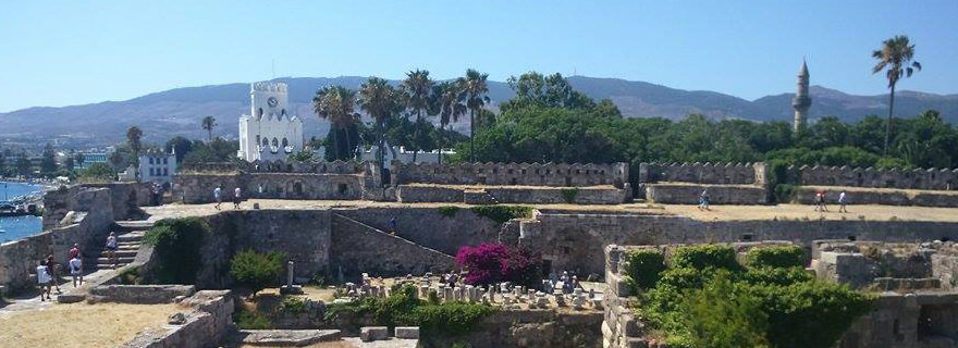 Burgruine: alte Zeiten auf Kos entdecken